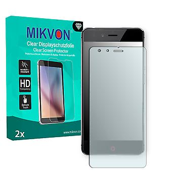 ZTE Nubia Z11 Mini Screen Protector - Mikvon Clear (Retail Package with accessories) (reduced foil)