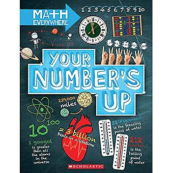 Your Number's Up: Digits, Number Lines, Negative and Positive Numbers (Math Everywhere)