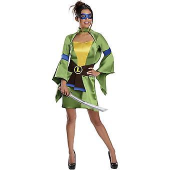 Leonardo Tmnt Female volwassen kostuum