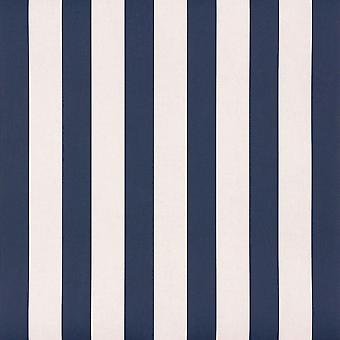 Stripes Wallpaper Teen Children's Bedroom White Blue Rasch