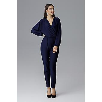 FIGL vrouwen jumpsuits coverall Navy