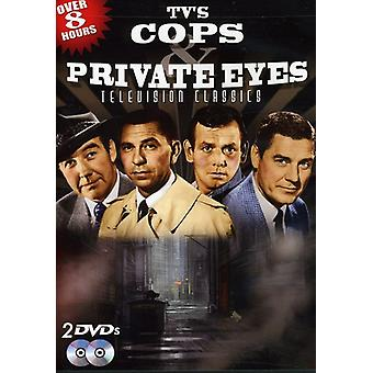 TV's Cops & Private Eyes: Television Classics [DVD] USA import