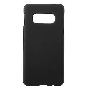 Samsung Galaxy S10e Skins in harten Kunststoff-schwarz