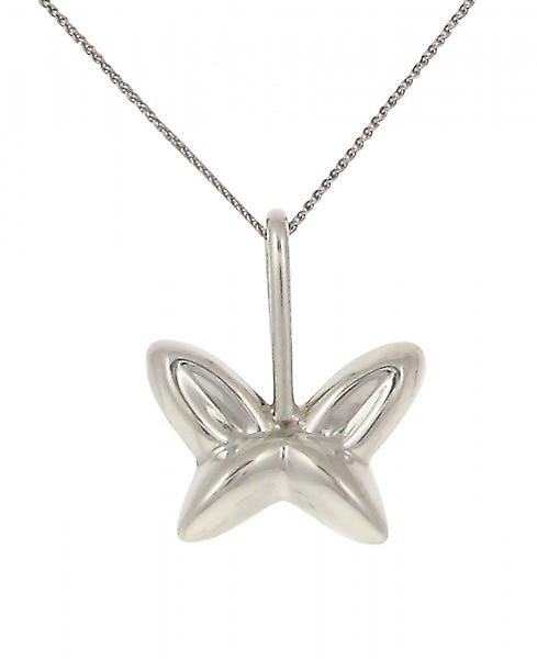 Cavendish French Silver shaped butterfly pendant without Chain