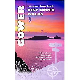 Best Gower Walks by Llywarch ap Myrddin - 9781845242565 Book
