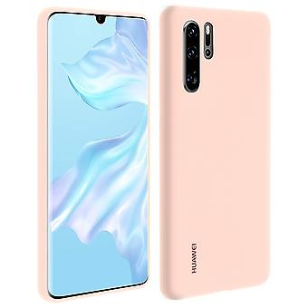Huawei P30 Pro Case Soft-Touch Semi-rigid Silicone Huawei Case - Pink