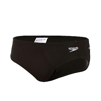 Speedo 6.5cm Superiority Kids Boys Swimming Trunk Brief Black/White