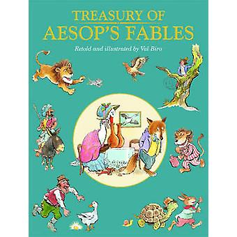 Treasury of Aesop's Fables by Val Biro - 9781841355061 Book