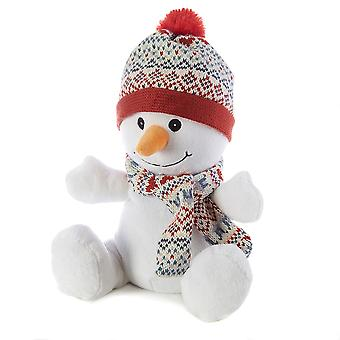 Warmies Cozy Plush Fully Microwavable Toy: Snowman