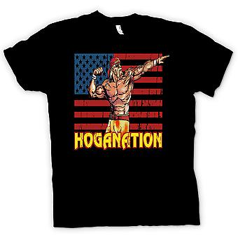 Kids T-shirt - Hoganation - Hulk Hogan US Flag