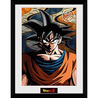 Dragon Ball Z Goku Framed Collector Print 40x30cm