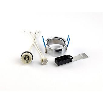 Diyas Downlight Component Kit Lampholders And Retaining Ring Polished Chrome For Various Crystal Rims Diyas Downlight Component Kit Lampholders And Retaining Ring Polished Chrome For Various Crystal Rims Diyas Downlight Component Kit Lampholders And Retaining Ring Polished Chrome For Various Crystal Rims Diyas