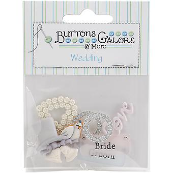 Button Theme Pack-Bride & Groom BTP-4420