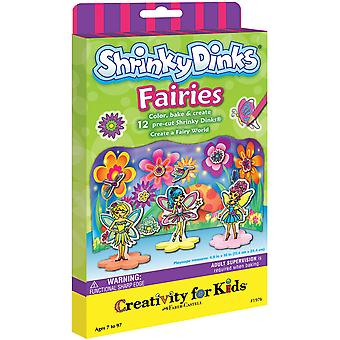 Creativity For Kids Activity Kits Shrinky Dinks Fairies Makes 12 Ck 1976