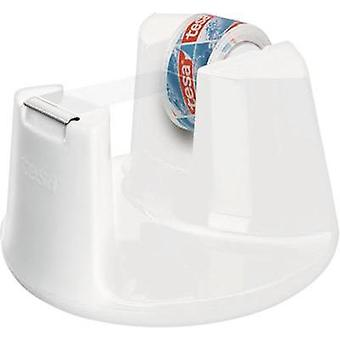 Desk tape dispenser TESA Tesafilm® White Content: 1 pc(s)
