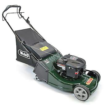 Webb WERR19SP Self Propelled Petrol Lawn Mower With Rear Roller