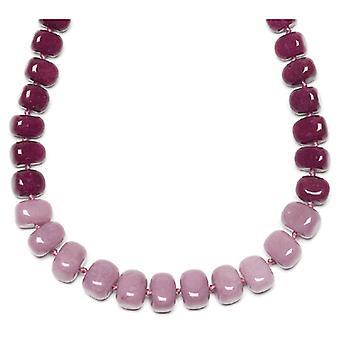 Lola Rose Bryson Necklace Elderberry Quartzite Black Cherry Stone