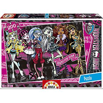 Educa 200 Monster High (Spielzeuge , Brettspiele , Puzzles)