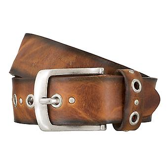 BERND GÖTZ belts men's belts leather belt walking leather Cognac 4834