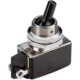 Toggle switch 250 Vac 2 A 1 x Off/On Marquardt 0100.1201 latch 1 pc(s)