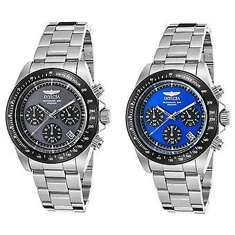 Invicta Men's 'Speedway' Quartz 39.5MM Stainless Steel Casual Watch