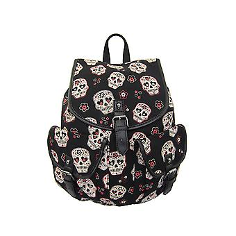 Banned Candy Skull Backpack