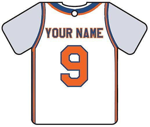 Personalised New York Knicks Basketball Car Air Freshener