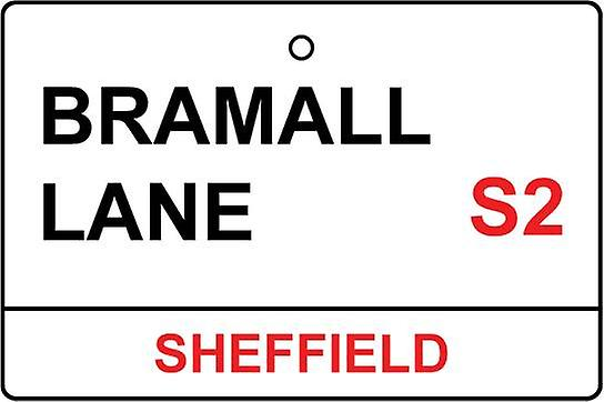 Sheffield Utd / Bramall Lane Street Sign Désodorisant