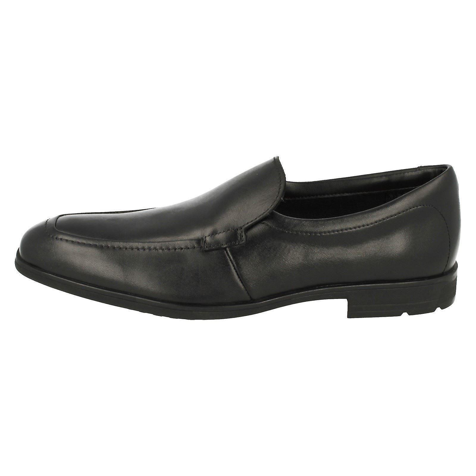 Senior gar?ons Clarks glisser sur sur sur puce école chaussures Willis marche 70947e