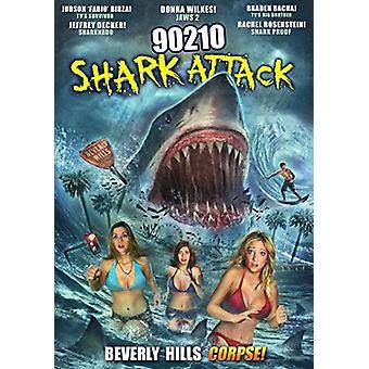 90210 Shark Attack [DVD] USA import