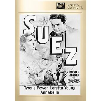 Suez [DVD] USA import