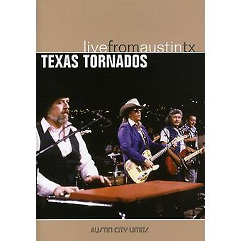 Texas Tornado's - Live uit Austin Texas [DVD] USA importeren