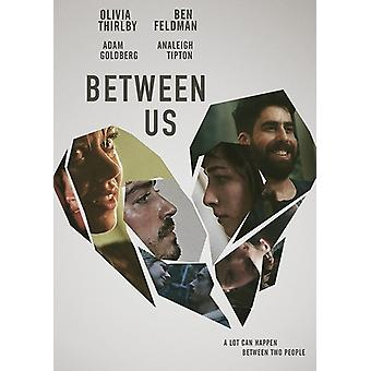Between Us [DVD] USA import