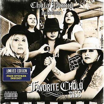 Chola Pinup Presents - Favorite Cholo Disc [CD] USA import