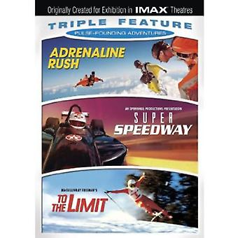 Adrenaline Rush/Super Speedway/to the Limit [DVD] USA import