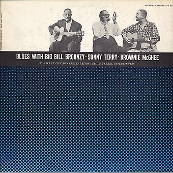 Broonzy/Terry/McGhee - Blues med Big Bill Broonzy Sonny Terry & Brownie [CD] USA import