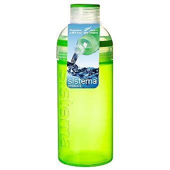 Sistema Trio Drink flaske 580ml, grøn
