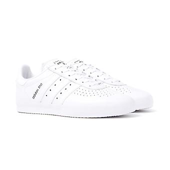 Adidas Originals 350 White Grained Leather Trainers