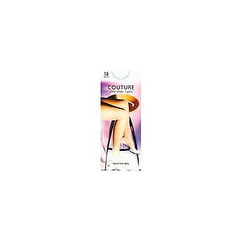 Tights Couture 15 DEN Sheer Tights Nearly Black