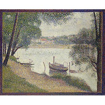 Georges Seurat - Jatte Poster Print Giclee