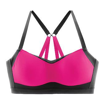 Bewegende comfort sport BH prima formulier C-D roze - 300604-621