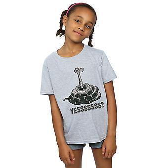 Disney Girls The Jungle Book Kaa Yesssss T-Shirt