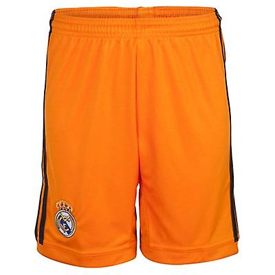 2013-14 real Madrid 3. Adidas Shorts (Orange)