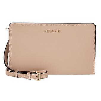 Michael Kors Jet Set Large Leather - Clutch - Acorn - 32F6GTVC3L-532
