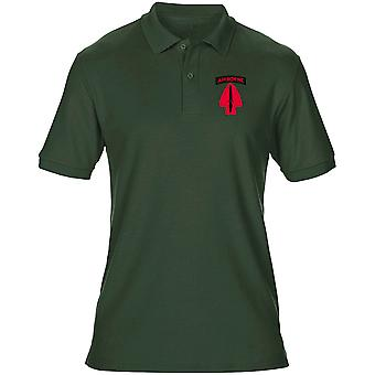 US Army Delta Force Embroidered Logo - Mens Polo Shirt