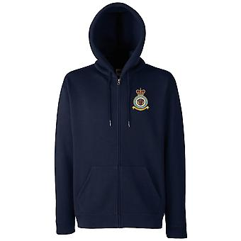 Neatishead RAF Station Embroidered Logo - Official Royal Air Force Zipped Hoodie Jacket
