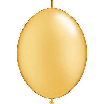 Qualatex Quick Link Plain Latex Balloons (Pack Of 50)