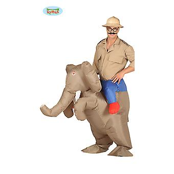 Elephant piggy costume tab elephants inflatable with motor