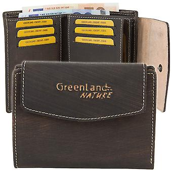 Greenland nature Handbrush leather purse wallet 1566-25
