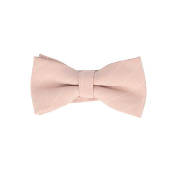 Frédéric Thomass fly loop bow tie tied pink striped cotton clasp